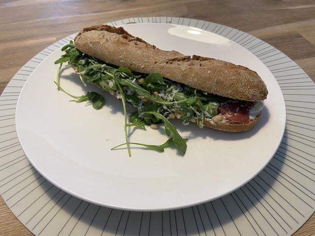 Broodjes van Flexxin Roasters Veenendaal Italiaanse bluf