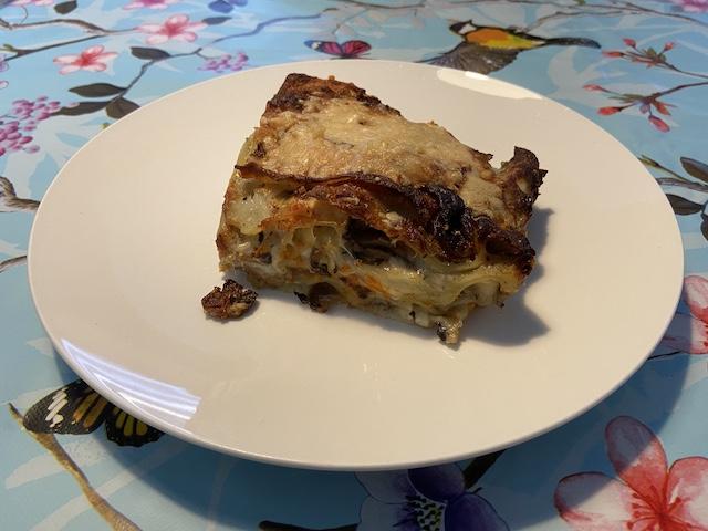 Driegangenmenu met Lasagne van Piretti Veenendaal lasagne fungi porcini