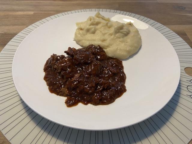 Vlaams Stoofvlees met Aardappelpuree