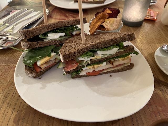 Clubsandwiches bij Museumcafé Gouda